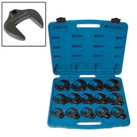 "Image of Laser Laser 4713 14 Piece 1/2"" Crows Foot Wrench Set"