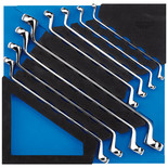 Draper IT-EVA40 8 Piece Ring Spanner Set