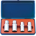 Draper SES 1/2'' Square Drive 4 Piece Stud Extractor Set