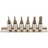 "Laser 5682 6 Piece 1/4"" Drive Hex Bit Set"