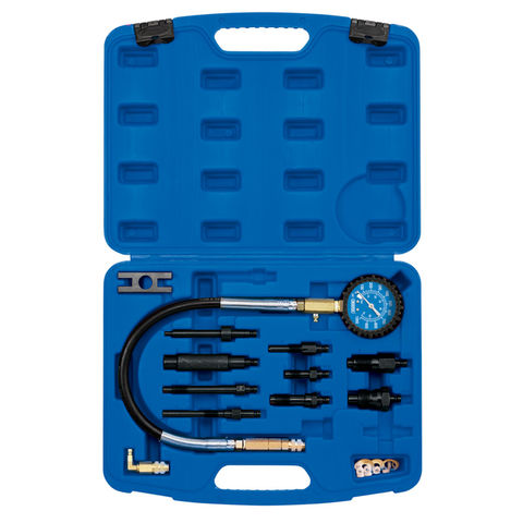 Image of Draper Draper 12 Piece Diesel Compression Test Kit