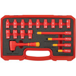 "Laser 6145 18 Piece Insulated Socket Set 1/4"" Drive"