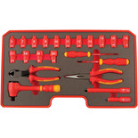 "Laser 22 Piece Insulated Tool Kit 3/8"" Drive"