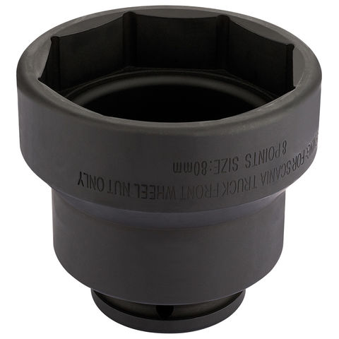 Image of Draper Draper CVS11 3/4'' Scania Square Drive 80mm Impact Socket