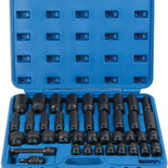 Laser 6429 40 Piece 1/2'' Drive Metric Impact Socket Set