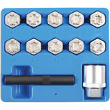Laser 6742 Locking Wheel Nut Key Set - Mercedes Benz