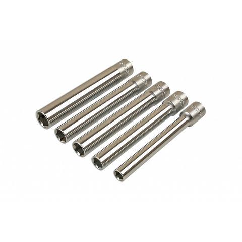 """Image of Laser Laser 7032 Extra Long 3/8"""" Drive 5 Piece Socket Set"""