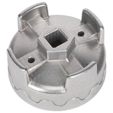 Mercedes Sealey VS7113 Oil Filter Cap Wrench Ø74.5mm x 14 Flutes