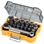 DeWalt DT71516-QZ 24 Piece Socket & Screwdriver Set