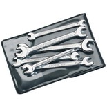 Elora 156 S6M 6 Piece Midget Metric Double Open End Spanner Set