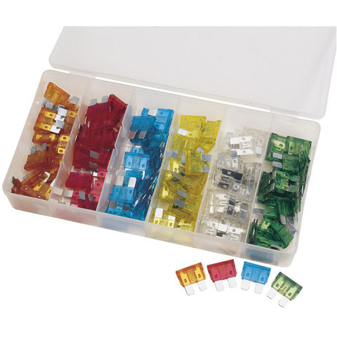 Image of Draper Draper 120 Piece Standard Automotive Plug-In Fuse Assortment