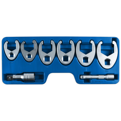 "Image of Laser Laser 7476 1/2"" & 3/4""Drive Crowsfoot Wrench Set"