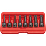 "Clarke CIS12/8S 8 Piece Impact Spline Bit Socket Set – 1/2"" Drive"