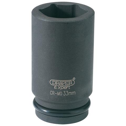 "Image of Draper Draper Expert 33mm 3/4"" Drive Hi-Torq® 6 Point Deep Impact Socket"