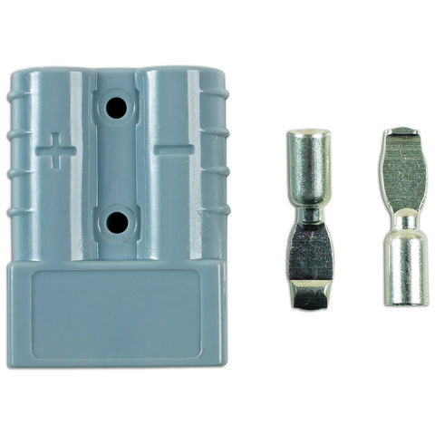 Connect Connect 30086 Power Connectors Anderson Type Plug 50Amp - Pack 1