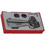 Teng TTCP04 4 Piece Ratcheting Crimping Tool Set