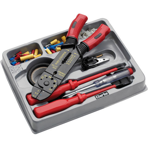 Image of Clarke Clarke CHT887 81 Piece Automotive Electrical Tool Kit
