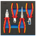 Draper IT-EVA4 4 Piece VDE Approved Fully Insulated Plier Set