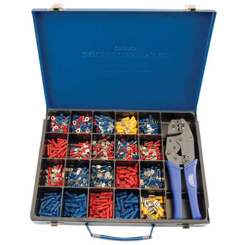 Image of Draper Draper Ratchet Crimping Tool and Terminal Kit