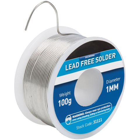 Image of Machine Mart Lead Free Solder (100g/1mm)