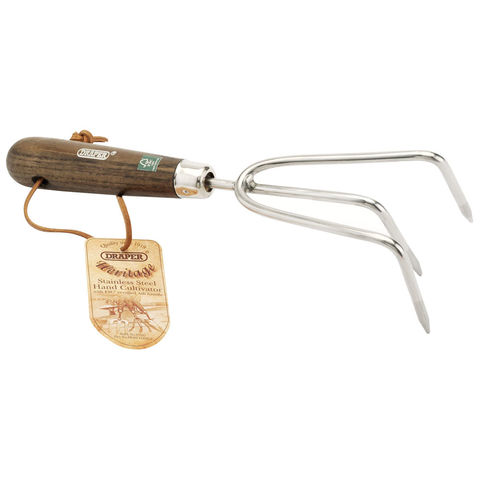 Image of Draper Draper Hand Cultivator with Ash Handle