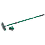Draper Paving Brush Set with Twin Heads and Telescopic Handle