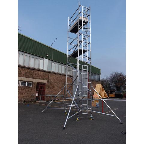 Image of UTS UTS 18SW107 500 10.7m Platform Single Industrial Tower