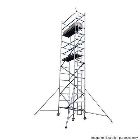 Image of UTS UTS 25SW122 500 12.2m Platform Single Industrial Scaffold Tower