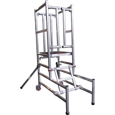 Image of UTS UTS Podium Step 0.75 Platform Height Self Closing Gate