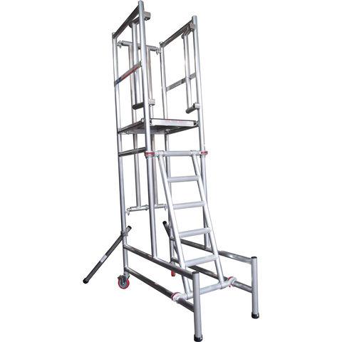 Image of UTS UTS Podium Step 1.75m Platform Height Self Closing Gate