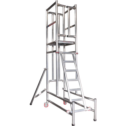 Image of UTS UTS Podium Step 1.92m Platform Height Self Closing Gate