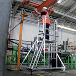 Youngman P1500 Folding, Stabilised Mobile Access Podium