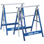 Draper Telescopic Saw Horses/Builders Trestles (Pair)
