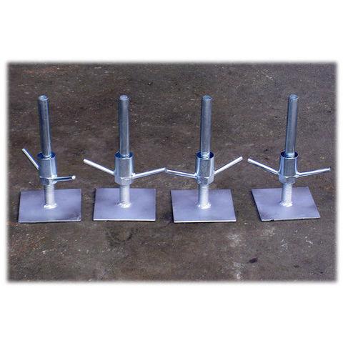 Image of Toptower Toptower Set of 4 Adjustable Legs for DIY Work Tower