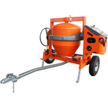 Altrad Belle AT350 Honda Powered Towable Concrete Mixer