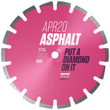 Diatech APR20 Asphalt Diamond Blade