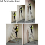 Zarges Skymaster Combination Ladder 3x10 Rung