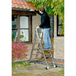 Youngman 3-Way 2-Section Aluminum Ladder