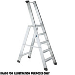 Zarges Z500 Seventec RC 4 Tread Stepladder