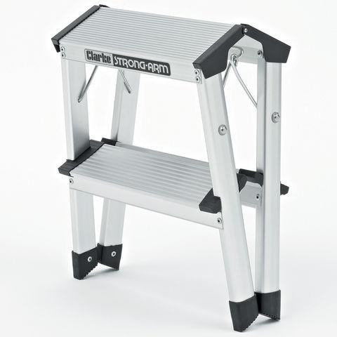 Clarke Fwp 1 2 Tread Step Ladder Machine Mart Machine Mart