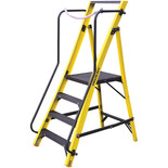 Youngmans 4 Tread Megastep Large Platform GRP Steps