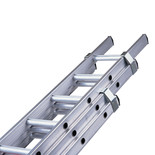 Pinnacle 4.0m Class 1 Triple Section Aluminium Extension Ladder