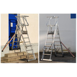 Zarges 4-6 Tread Sherpascopic Work Platform