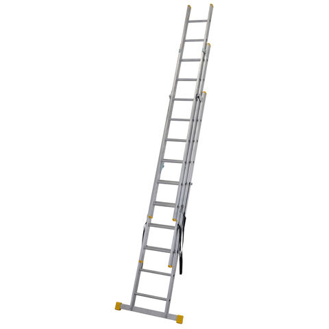 Werner Werner 3.0m Box Section Triple Extension Plus Ladder (X4)
