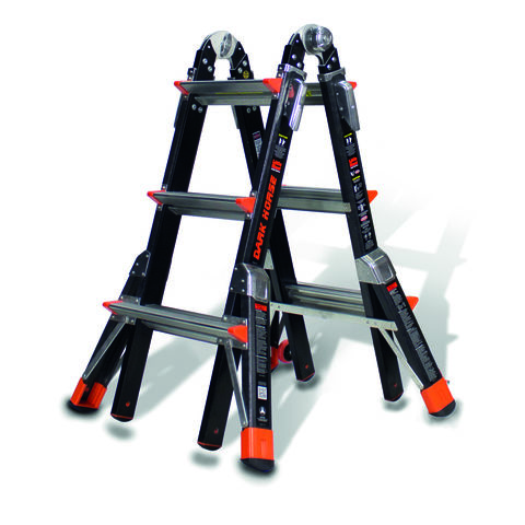 Image of Little Giant Little Giant 3 Rung Dark Horse Combination Ladder