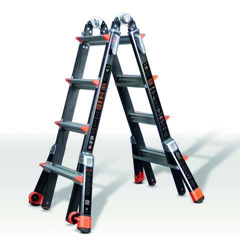 Image of Little Giant Little Giant 4 Rung Dark Horse Combination Ladder