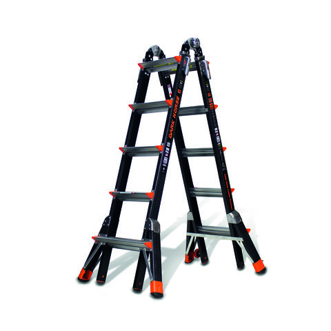 Image of Little Giant Little Giant 5 Rung Dark Horse Combination Ladder
