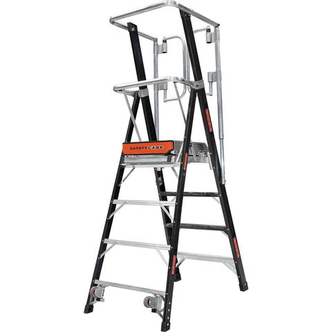 Image of Little Giant Little Giant 4 Tread 1.16m Safety Cage Step