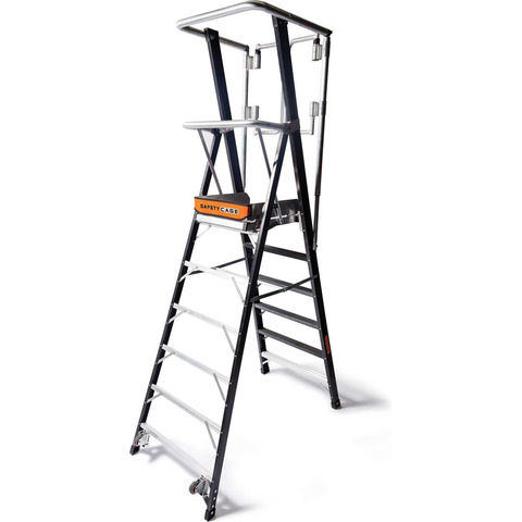 Image of Little Giant Little Giant 6 Tread 1.74m Safety Cage Step