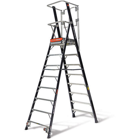 Image of Little Giant Little Giant 8 Tread 2.28m Safety Cage Step